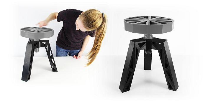 #3D Printed Stool
