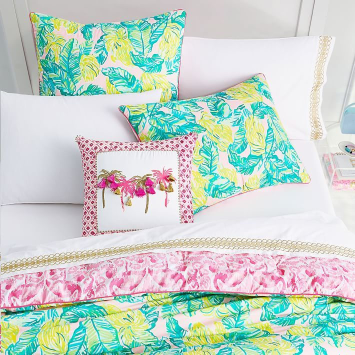 Lilly Pulitzer Local Flavor Comforter Sham In 2020 Lilly