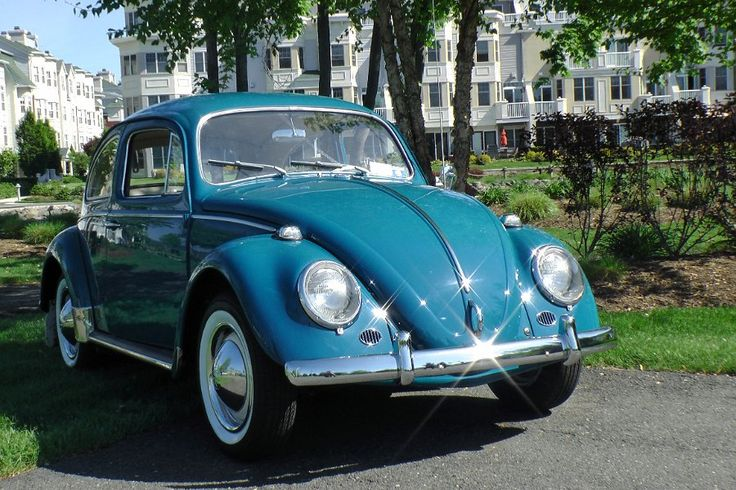 Classic vow bug | Classic Vintage 1964 VW Volkswagen Beetle Bug Sedan Sea Blue | Classic ...(o_!_/o)