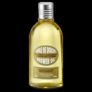 This shower oil leaves a satin-like softness all over the body with a subtle and mouth-watering scent of fresh almond, for a delightful skin!