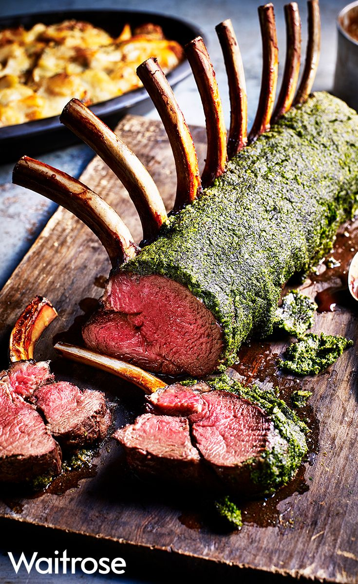 If you're looking for a change from turkey, why not try our flavoursome soft-herb venison this Christmas? Make sure to roast it quickly, at a high heat, to help keep it juicy. When cooked, serve with a juniper jus. Check out the Waitrose website to see the full recipe.