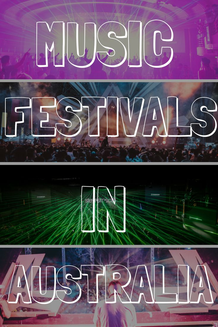 Looking for the BEST Music Festivals in Australia!? I've compiled a list of the top 30 events down under. From bush doofs to mega festivals!