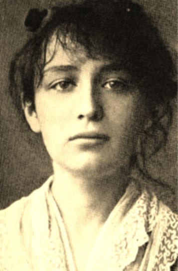 """Camille Claudel (1864-1943) """"was one of the rare female artists of the 19th century that did compete with the best male sculptors of her time.""""In 1883, Camille became acquainted with Auguste Rodin. Soon after Camille became his model, assistant and lover. """"No other woman had such an intellectual, artistic and erotic impact on Rodin's life like Camille Claudel."""" Camille Claudel was the sister of the reknown French writer Paul Claudel. A.R. Petrelly"""
