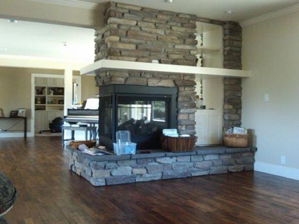 Fireplace Finishes Ideas best 10+ 3 sided fireplace ideas on pinterest | modern fireplace