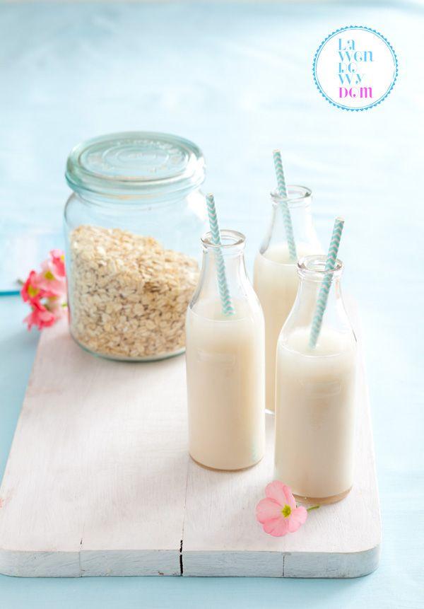 mleko owsiane z płatków