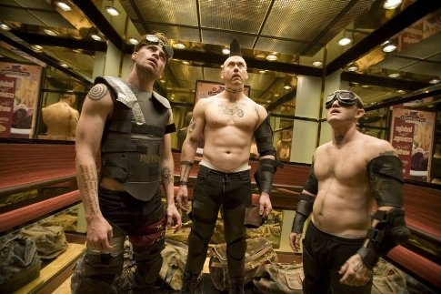 Chris Pine, Kevin Durand & Maury Sterling  ~The Tremor Brothers from Smokin' Aces~