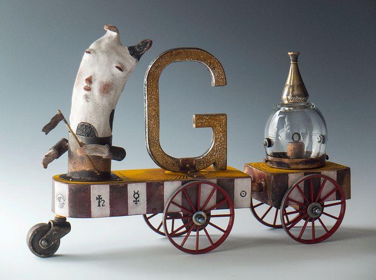 Morgan Brig   Mixed Media Sculpture   Portfolio 1