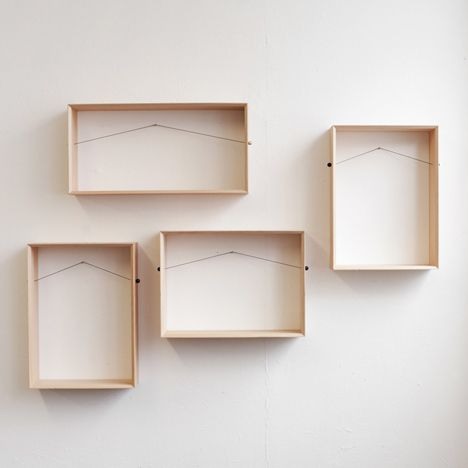 Shelframe by Bahbak Hashemi-Nezhad.Ideas, Bahbak Hasheminezhad, Frames Pictures, Bahbak Hashemi Nezhad, Wall Shelves, New Apartments, Wooden Boxes, Shadows Boxes, Design