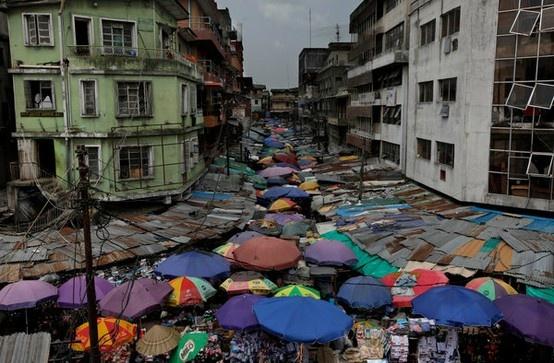 El mercado de Laos. Llamativo colorido, cómo serán sus olores?