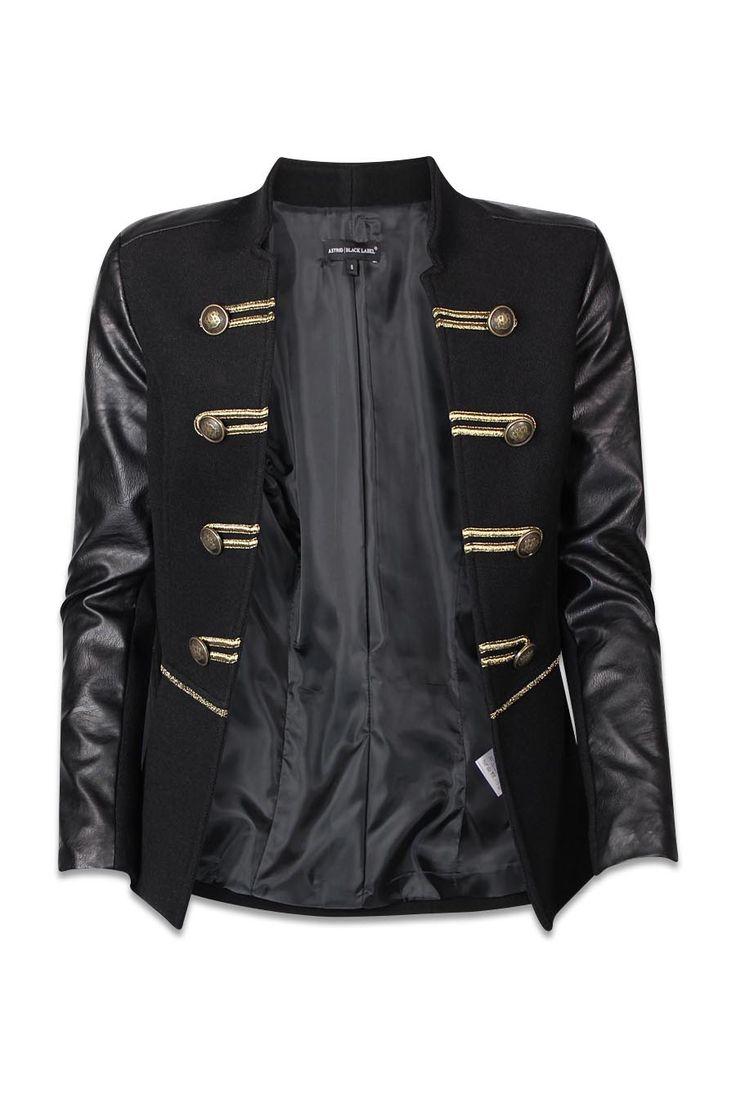ZEB e-shop Zwarte blazer ABL BLA ALEJANDRO