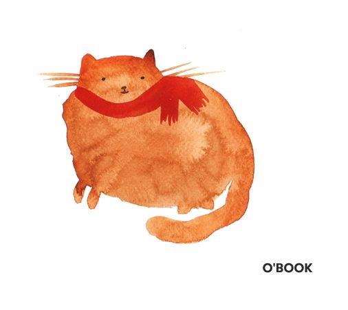 Домашний кот (акварель)
