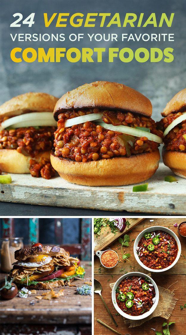 24 Comfort Food Recipes That Are Secretly Vegetarian