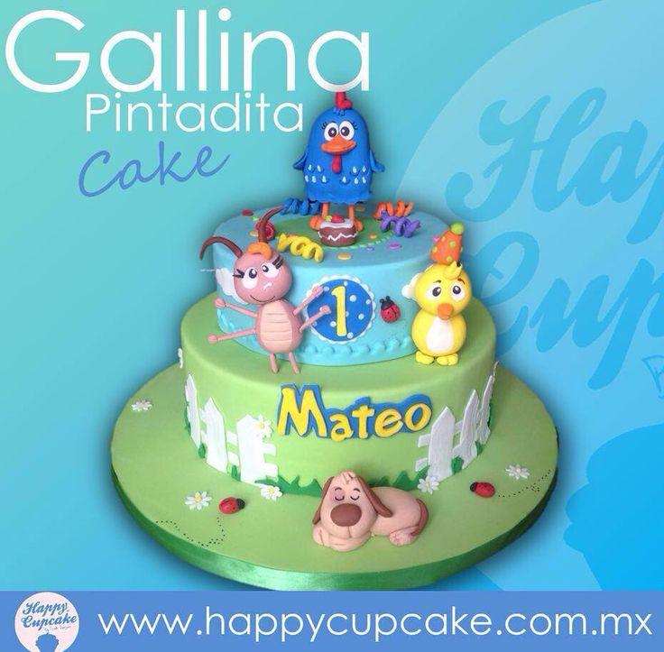 #GallinaPintaditaCake #GallinaPintadita #HappyCupcake