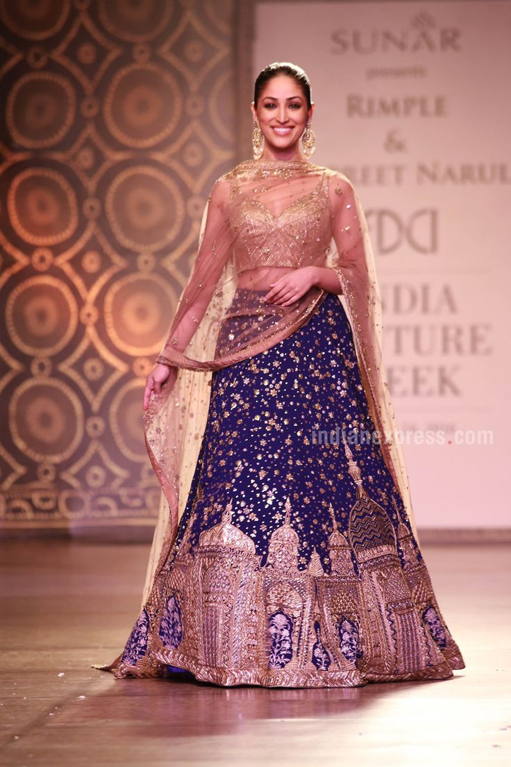 Yami Gautam walks the ramp for Rimple and Harpreet Narula, see pics