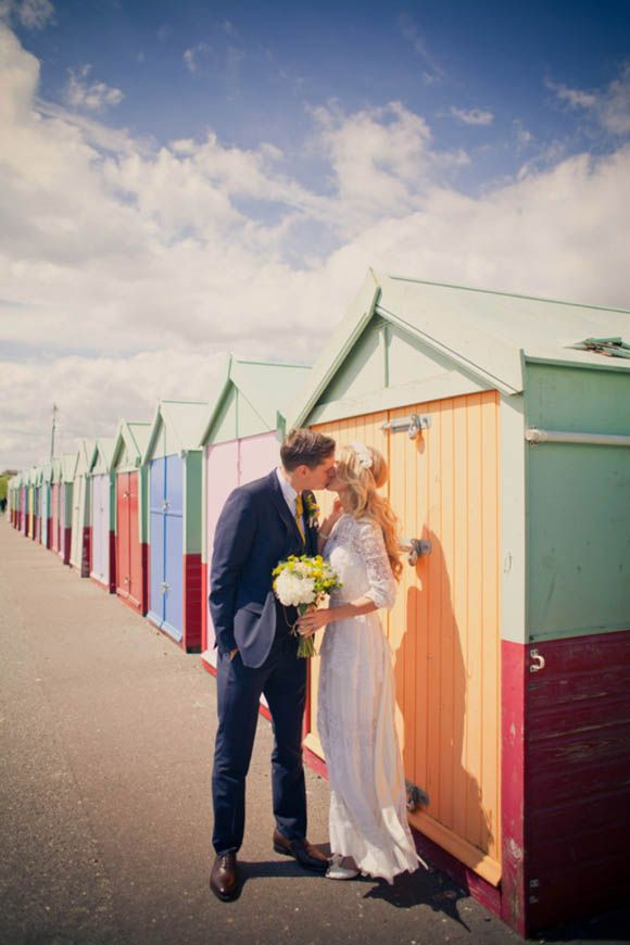 An Original Edwardian Wedding Dress for a 1960s Mod Inspired Brighton Wedding...