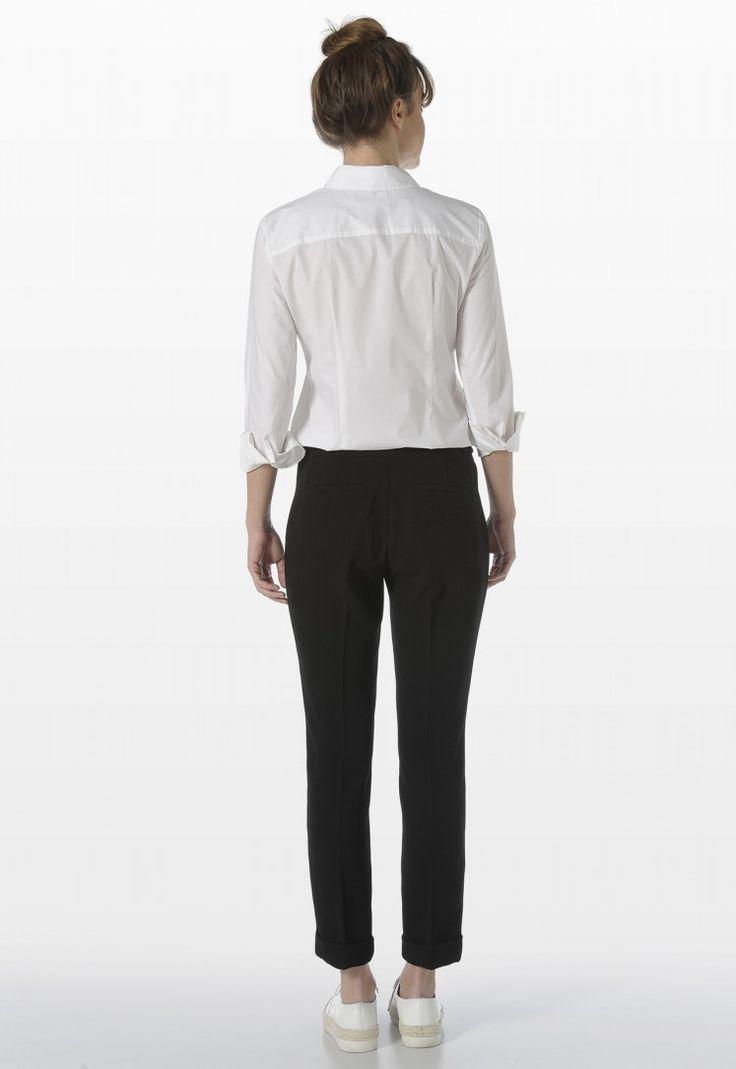 CREPE TROUSERS - Pants - Woman | Stefanel