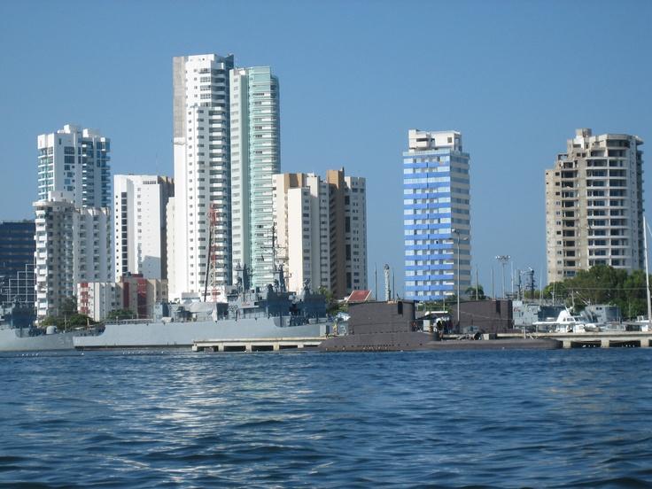 Cartagena de Indias. Bahia