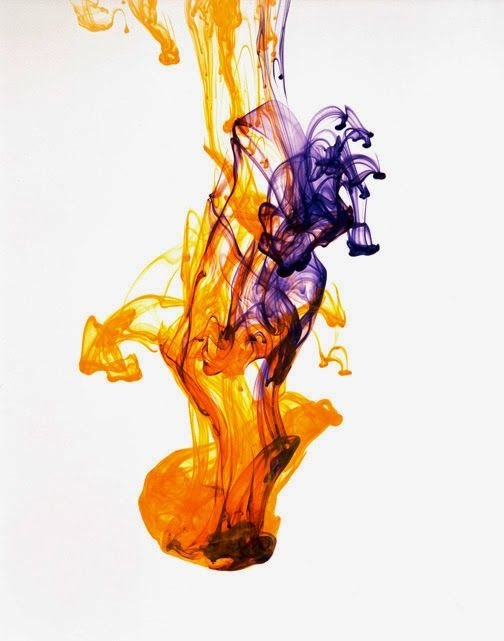 ink drop in water - Google Search