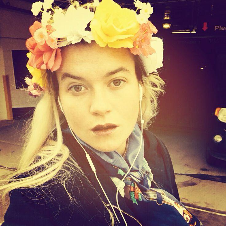 Flowers in ma head
