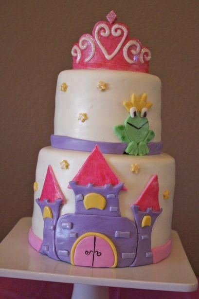 Princess Cake Designs Little Girl : 198 best images about Little girl cake ideas on Pinterest ...