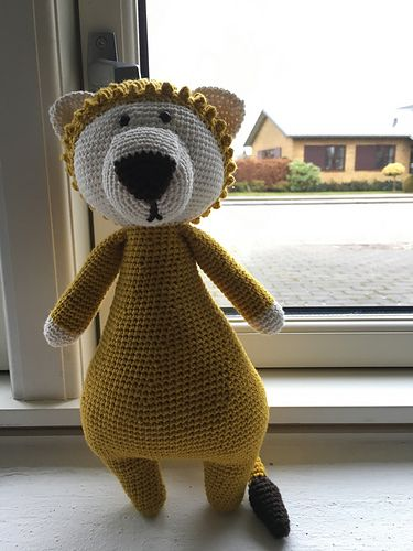 Ravelry: Annalindbjerg's Little Yellow Lion