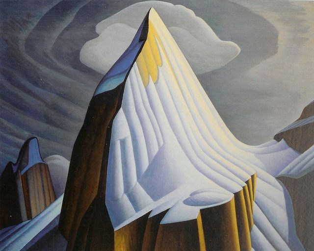 Ice House, Coldwell, Lake Superior - Lawren Harris - WikiPaintings.org