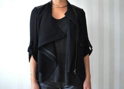 : Helmut Lang Jackets, All Black, Fashion Style, Apparel Inspiration, Fashion Blog, Winter Fashion, Black Winter, Fashion Jackets, Dreams Wardrobes