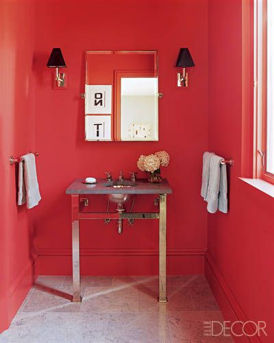 Top Designers Ideal Wall Paint Hues For Bathrooms: 17+ Best Images About Powder/bathroom Love On Pinterest