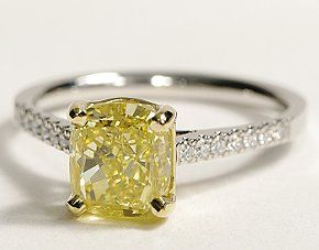 I loveeeee yellow diamonds!