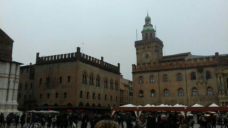 Piazza Maggiore, Bologna, IT