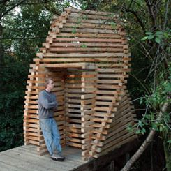 Composting Toilet, Eccleshall Wood (UK)/ Sheffield School of Architecture