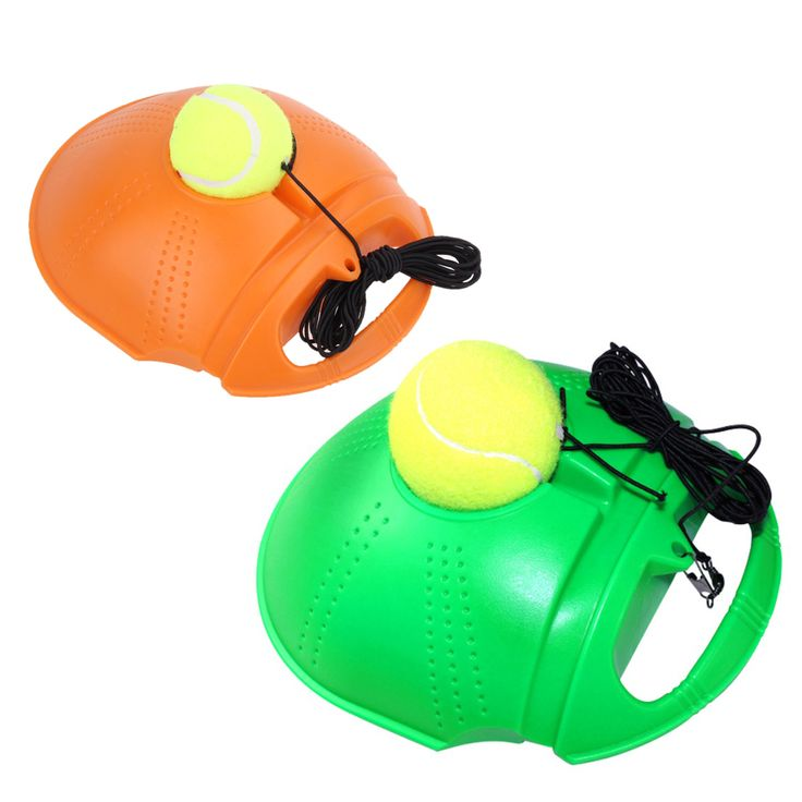 Tennis Training Tool Exercise Tennis Ball Self-study Rebound Ball With Tennis Trainer Baseboard Sparring Device dropship epacket