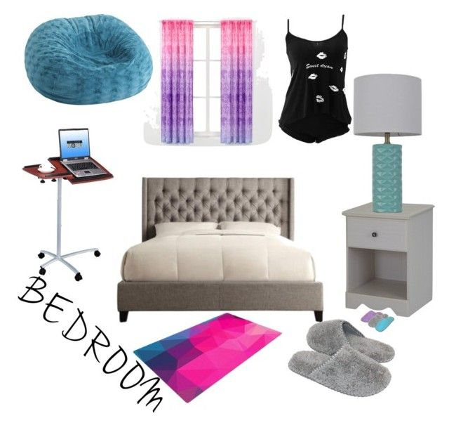 """Time to make your new room"" by angeliccscott ❤ liked on Polyvore featuring interior, interiors, interior design, home, home decor, interior decorating, South Shore, Room Essentials, Pier 1 Imports and Techni Mobili"
