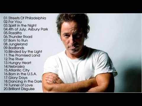 Best Songs Of  Bruce Springsteen [Full Songs HD] ||  Bruce Springsteens ...