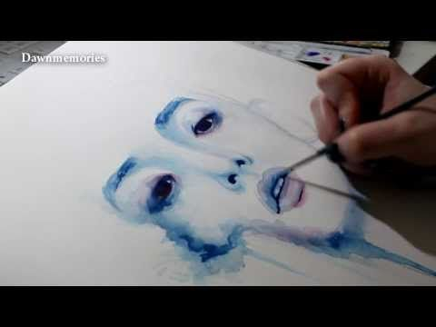 352 best art watercolors tutorials images on pinterest for Water colouring techniques