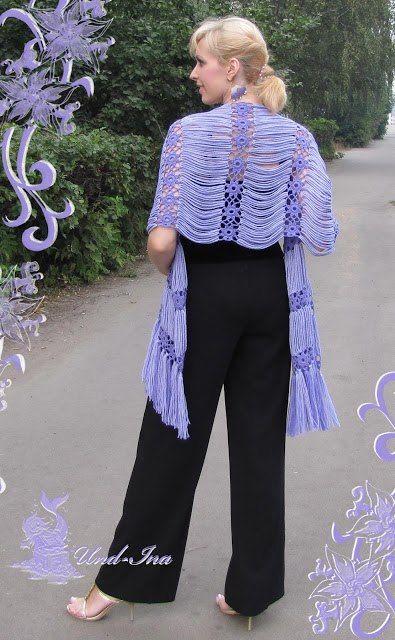 Chal .. #inspiration_crochet_diy GB ... http://pinterest.com/gigibrazil/crochet-and-knitting-lovers/