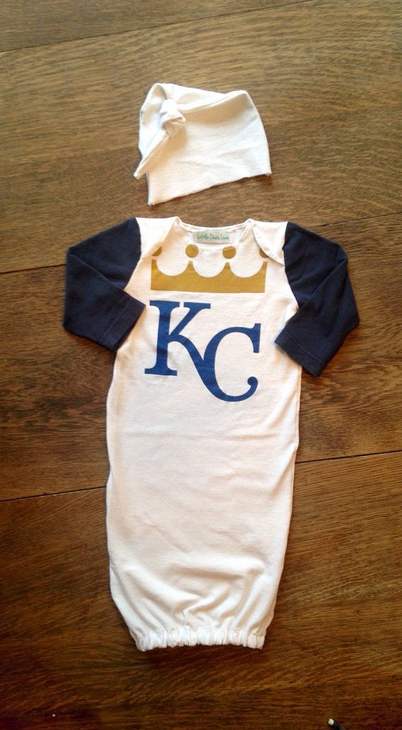 Kansas City Royals baseball MLB baby newborn by LittleOnesLove