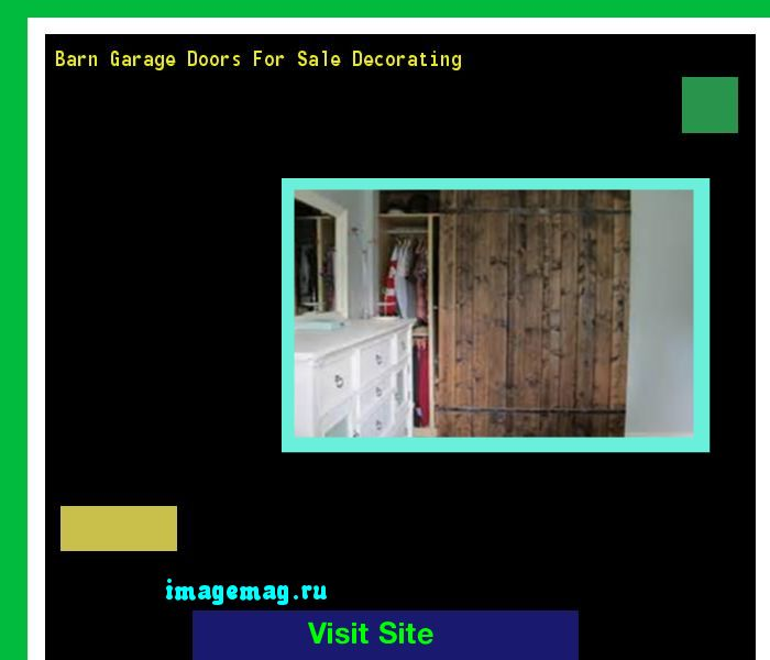 Barn Garage Doors For Sale Decorating 064707 - The Best Image Search