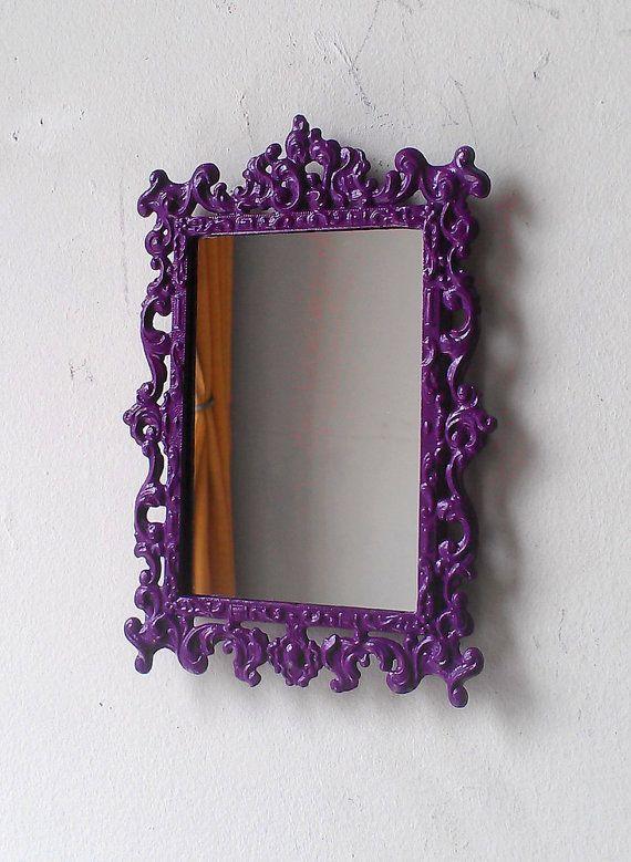 55 Best Purple Mirror Images On Pinterest Purple Mirror