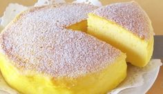 Soufflé Cheesecake Japonais