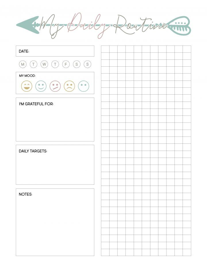 Free Weight Loss Planner Printable