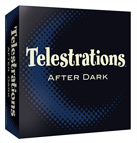 Everything's better after dark! Our favorite party game is all grown up. Telestrations After Dark is the adults only version of the #1 LOL party game Telestrations. Draw what you see then guess what y...
