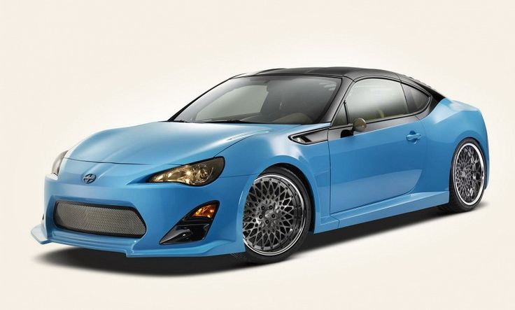 It seemed that only #Porsche 911 and #Chevy Corvette have the coolest body in the world… but here comes #Scion #coupe FR-S! The combination of sky-blue body and a black roof, plus 19-inch wheels… Looks amazing #ActiveMotorwewrks