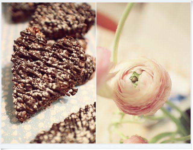 Suklaamarenki: Viikon resepti | Suklaa-riisimuro sydämet