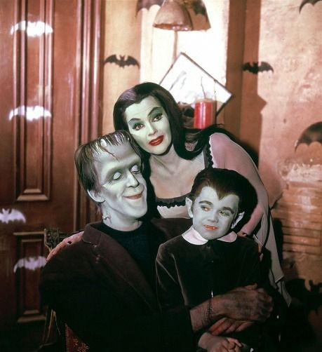 Munsters: It's Halloween, at last we can be ourselves!