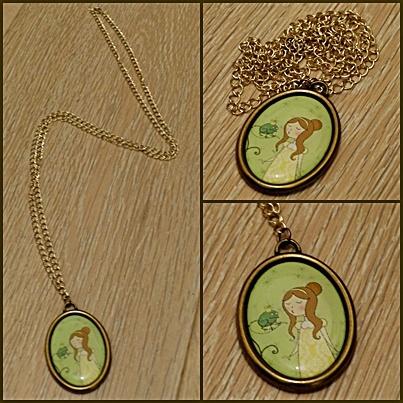 Giuligiu necklace...The Princess and the Frog!