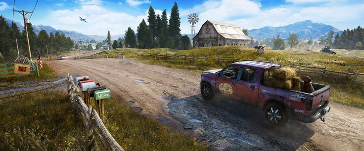 Far Cry 5 Trailers & Wallpaper | Ubisoft (US)