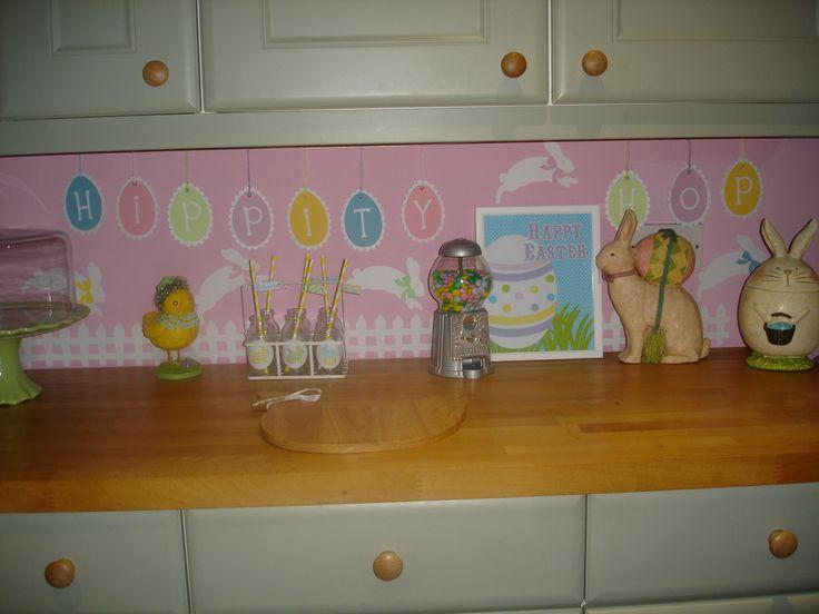easter kitchen display