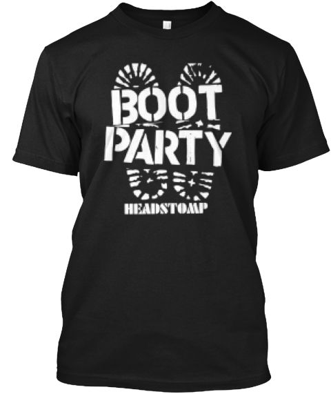 Skinhead Boot Party T-Shirt