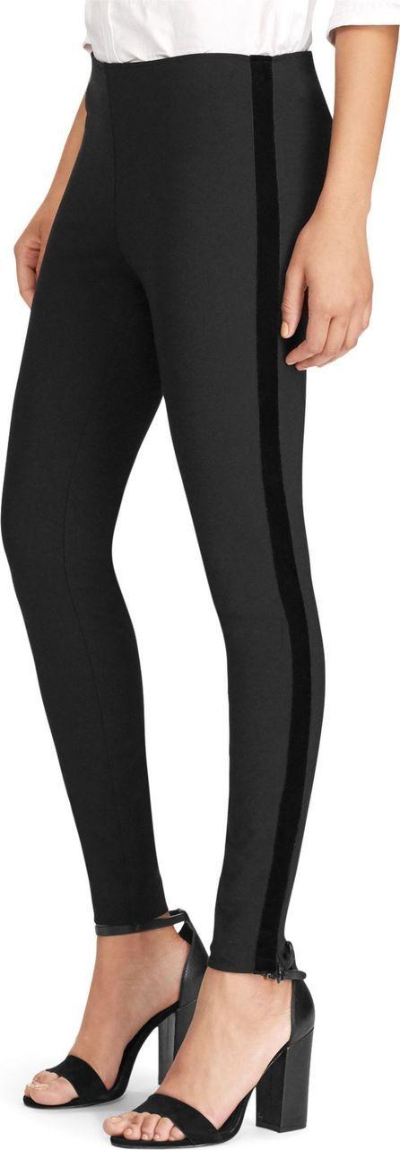 Polo Ralph Lauren Velvet Tuxedo Stripe Pants $165.00